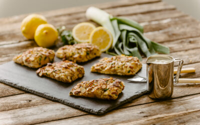 Almond Crusted Lake Trout